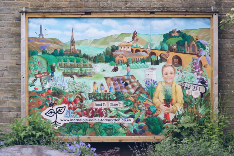 Creativity for a more sustainable Todmorden