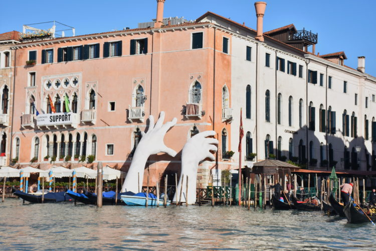 Creativity for climate-awareness in Venice