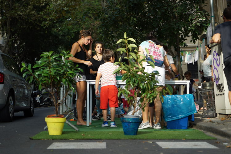 Creativity for a greener and kinder city