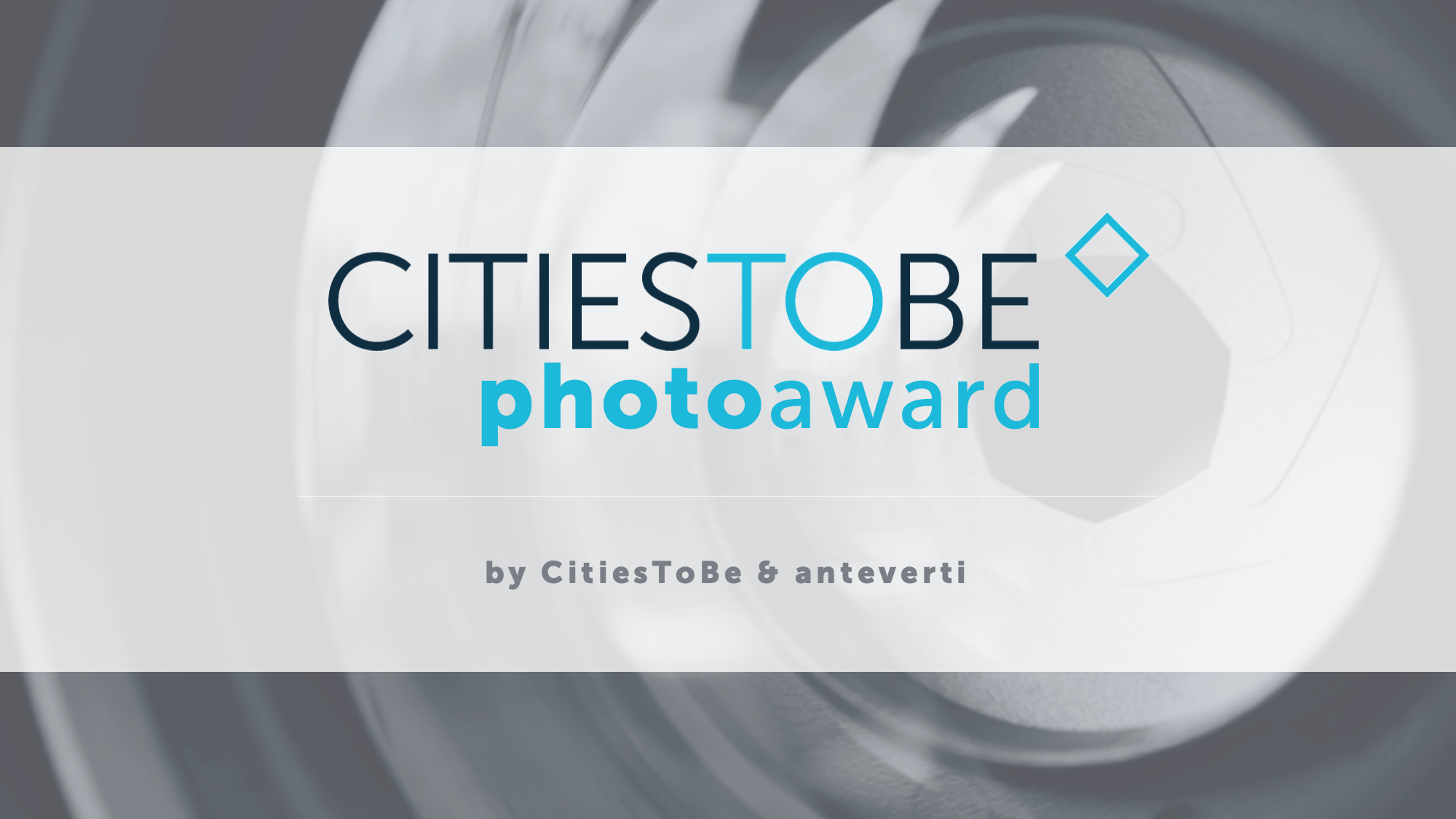 Finding inspiration in urban complexity: 1st edition of the CitiesToBe Photo Award launched!